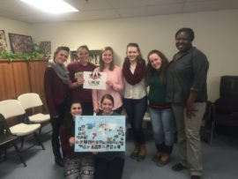College students visit L'Arche Boston North